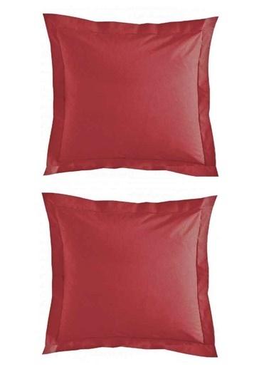 Maki   Vişne Yastık Kılıfı Yer Minderi Kırmızı